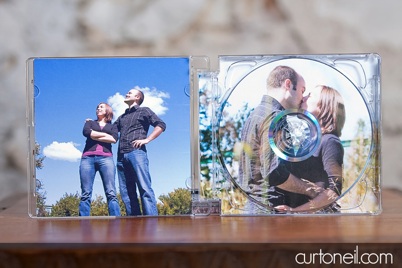 DVD Packaging - Curt O'Neil Photographer - Wedding and Lifestyle Photographer - Sault Ste. Marie